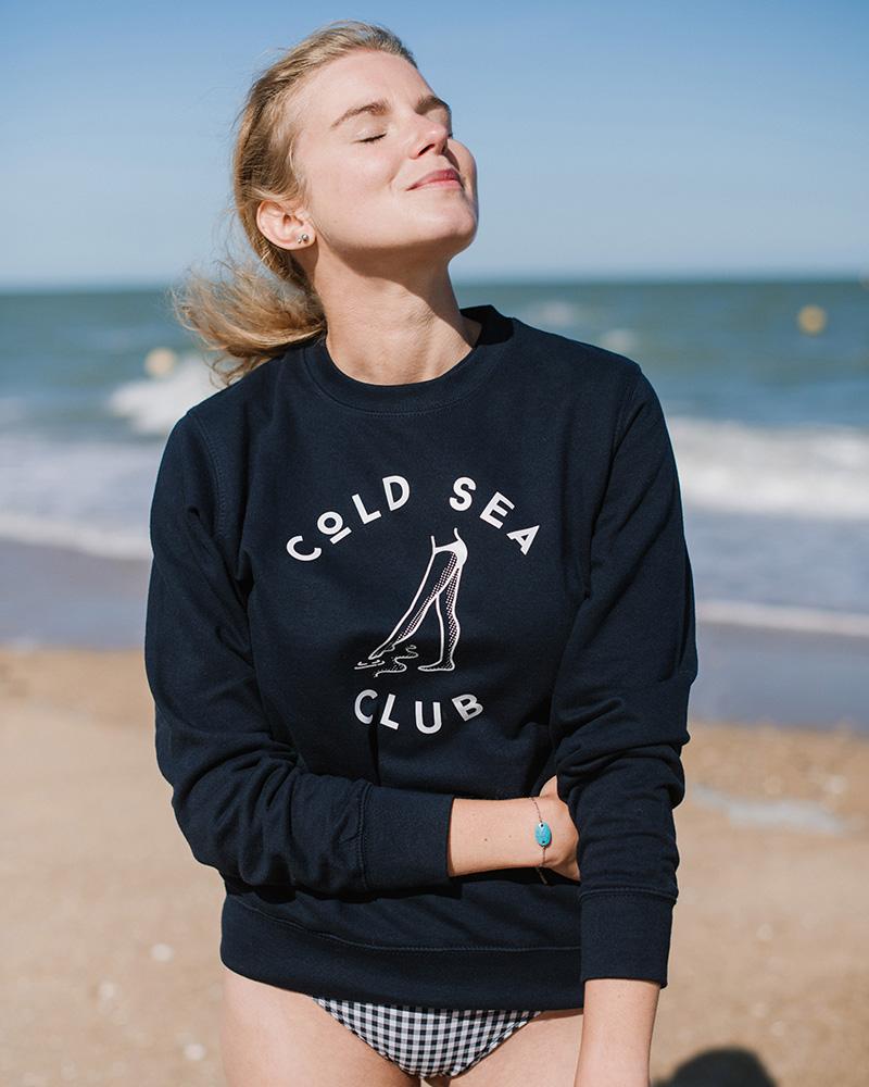 sweatshirt mixte cold sea club