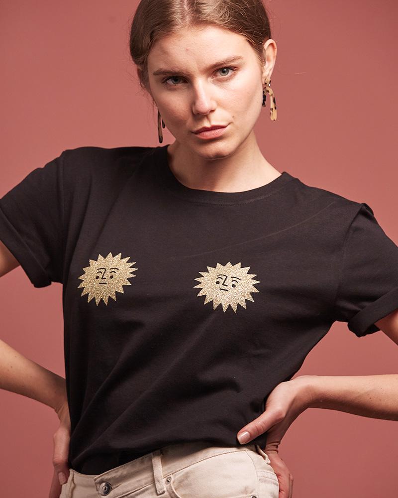 t-shirt de la marque 17 degrés maxi soleils